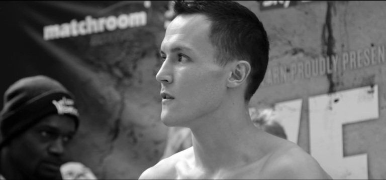 Boxer Josh Warrington Weigh In