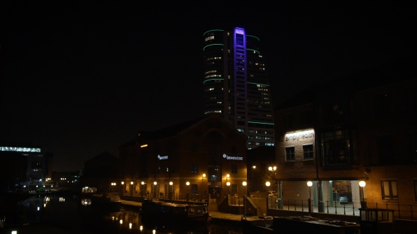 Leeds Bridgewater Place Night GH4 Architecture Building
