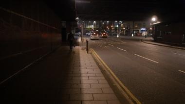 Leeds City Centre Road to Queens Hotel