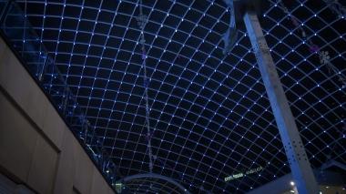 Leeds Trinity Rooftop Lights