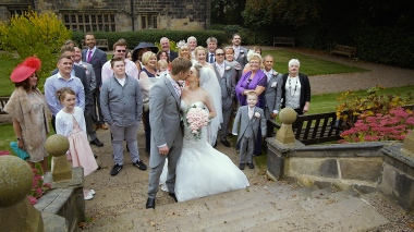 Leeds Oakwell Hall Birstall Wedding Video Film Videographer Production
