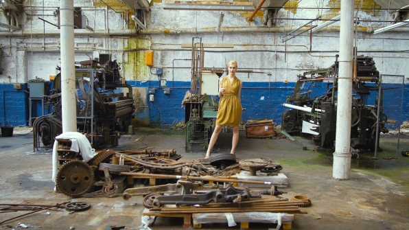 Modelling at old rusty machine