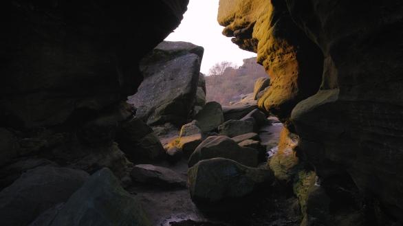 Brimham Rocks Natural Formations Leeds UK Videogrpaher Sightseeing Tour Yorkshire Travel