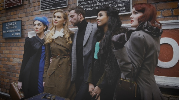 vintage fashion design shoot modelling bradford