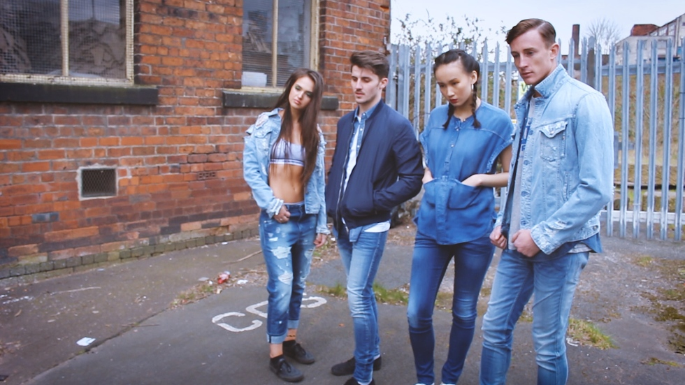 denim look book fashion video editor videographer leeds yorkshire