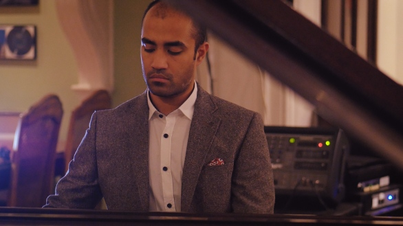 Manny, Vass, Playing, piano, story, music, classical, yorkshire, artist