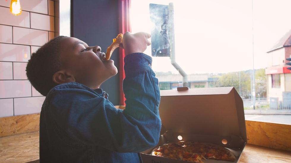 Kids Events Pizza Making Videographer Leeds